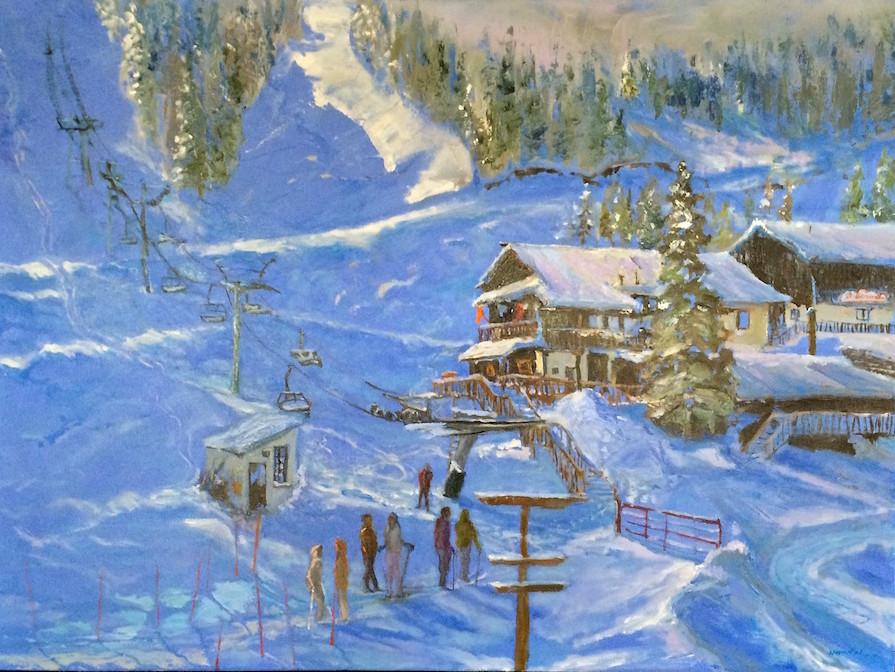 Saint Bernard Hill   Taos Ski Valley