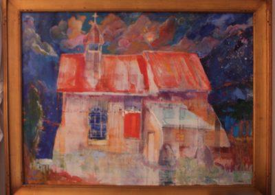 Moonlight on White Church