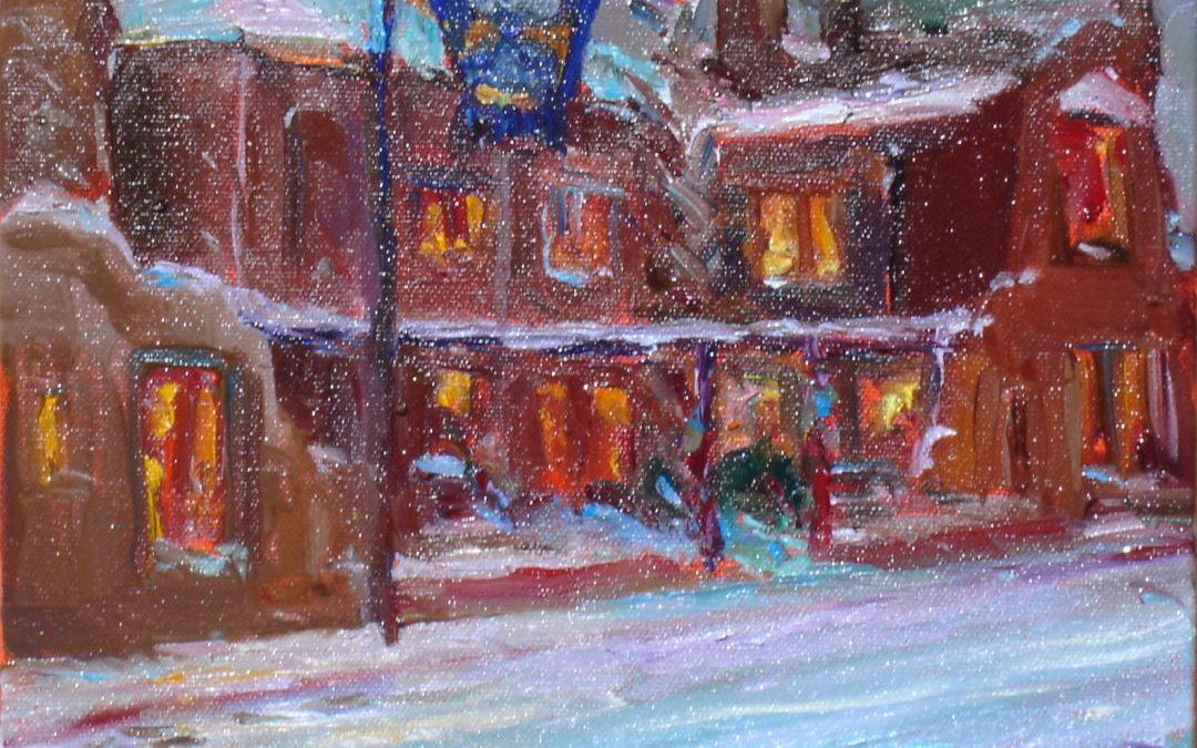 The Taos Inn In Snow