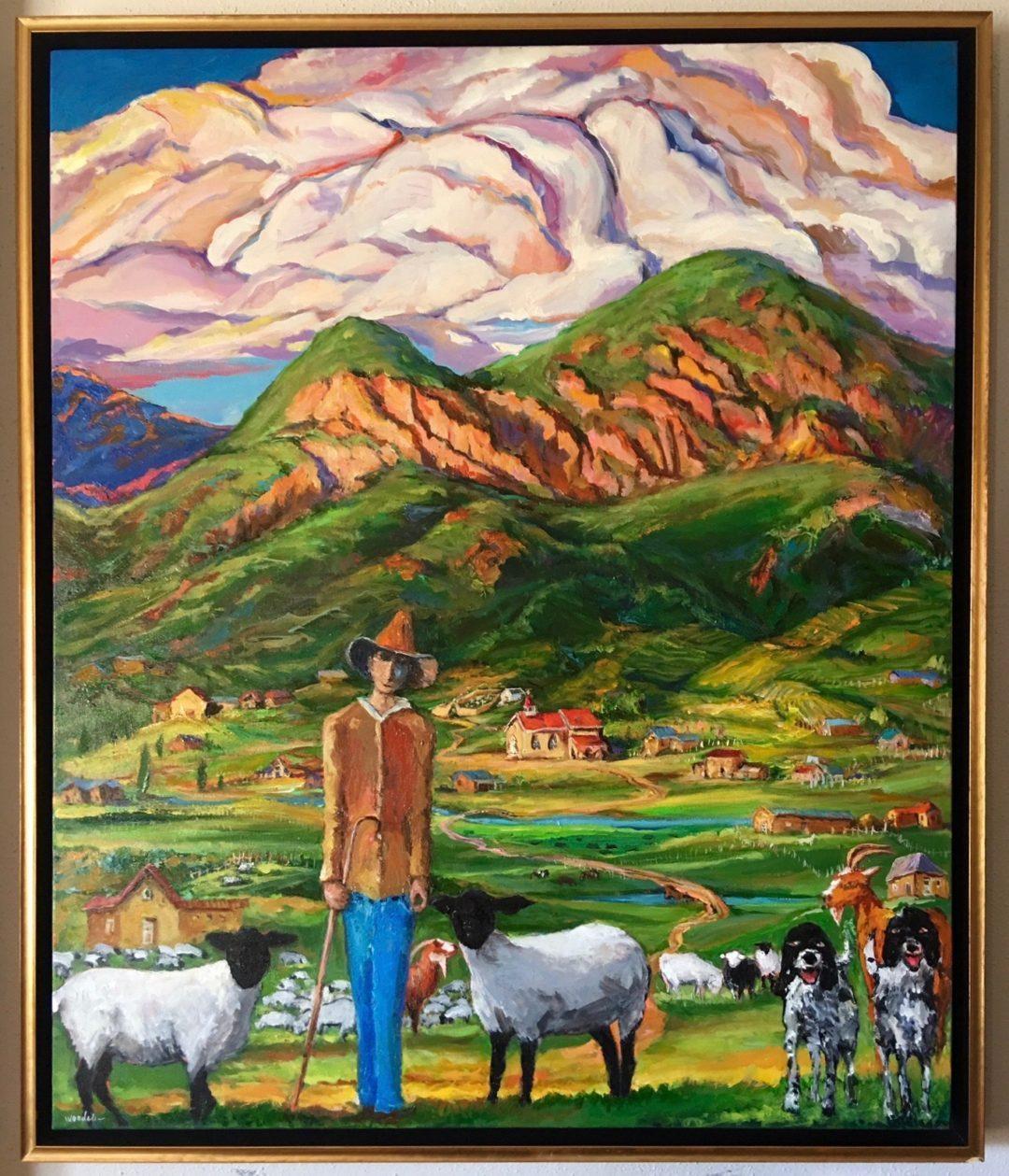 The Shepherd of Taos