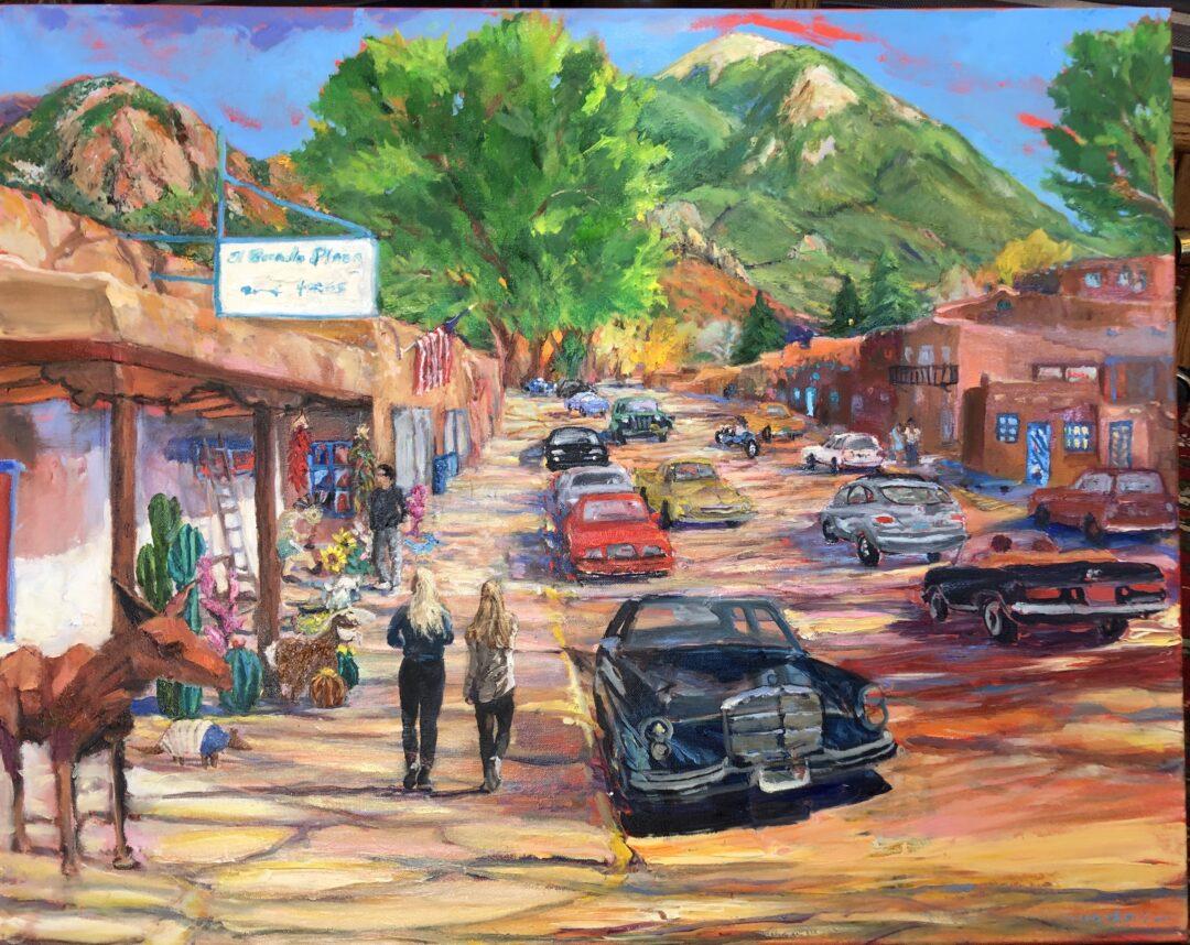 Taos Street Scene